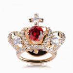 Брошь Алмазная корона