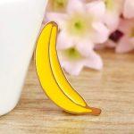 Брошь Банан