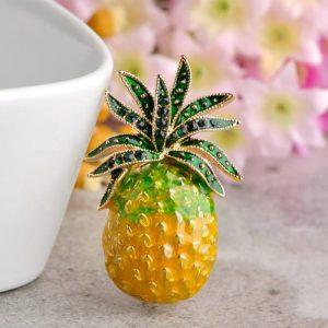 Брошь Мини ананас