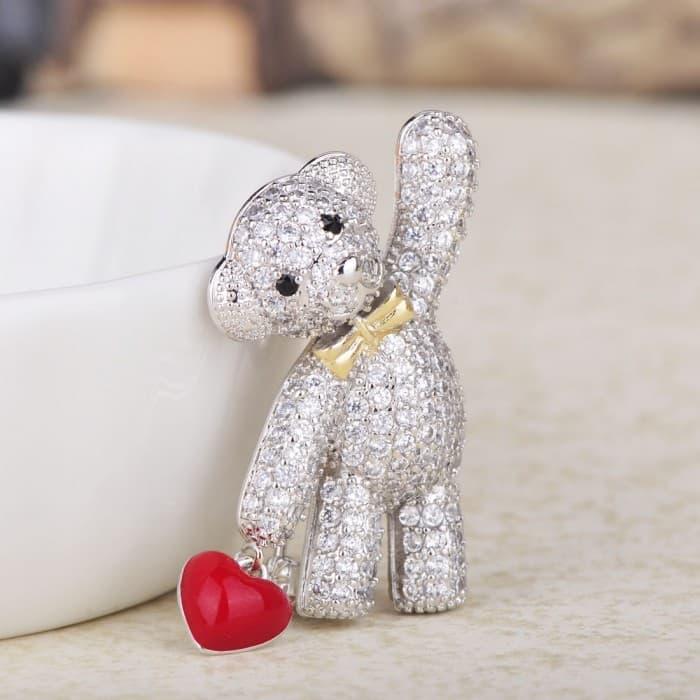 Брошь Мишка Toy
