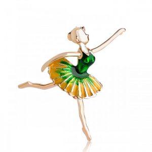 """Брошь """"Прекрасная Балерина"""""""