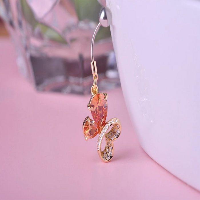 Пирсинг бабочка