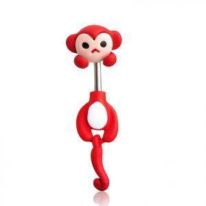 Пирсинг красная обезьянка