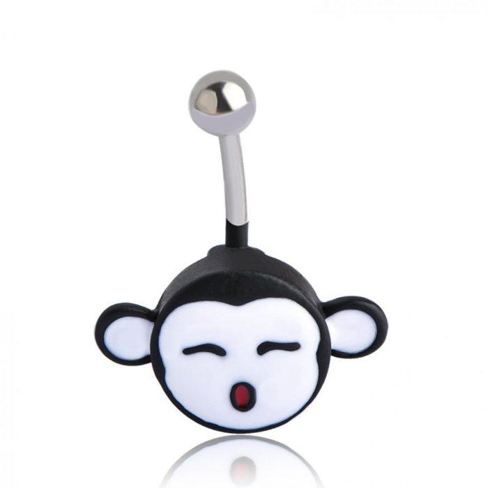 Пирсинг маленькая обезьянка