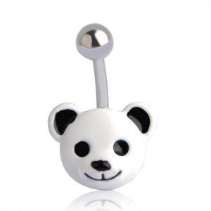 Пирсинг маленькая панда