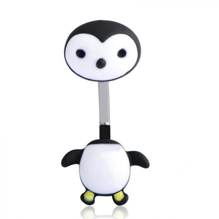 Пирсинг милый пингвин