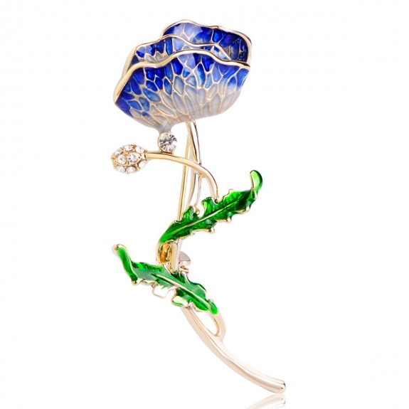 Брошь Райский Цветок