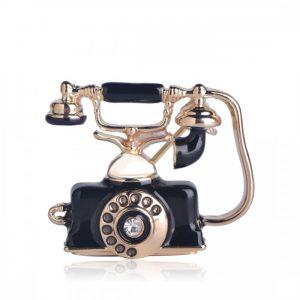 Брошь Телефон