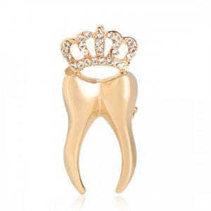 Брошь Золотой Зуб