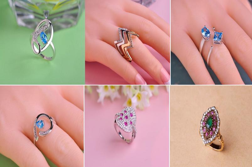 Как выбрать кольцо, которое подходит для формы ваших рук? Полные пальцы и кисти
