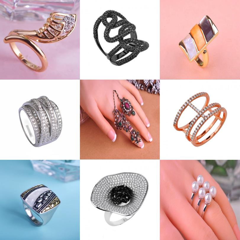 Как выбрать кольцо, которое подходит для формы ваших рук? Тонкие и длинные пальцы