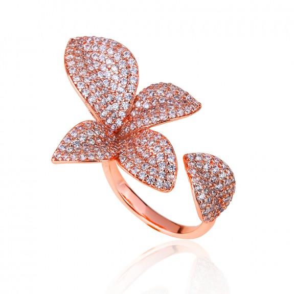 Кольцо Солнечный Цветок