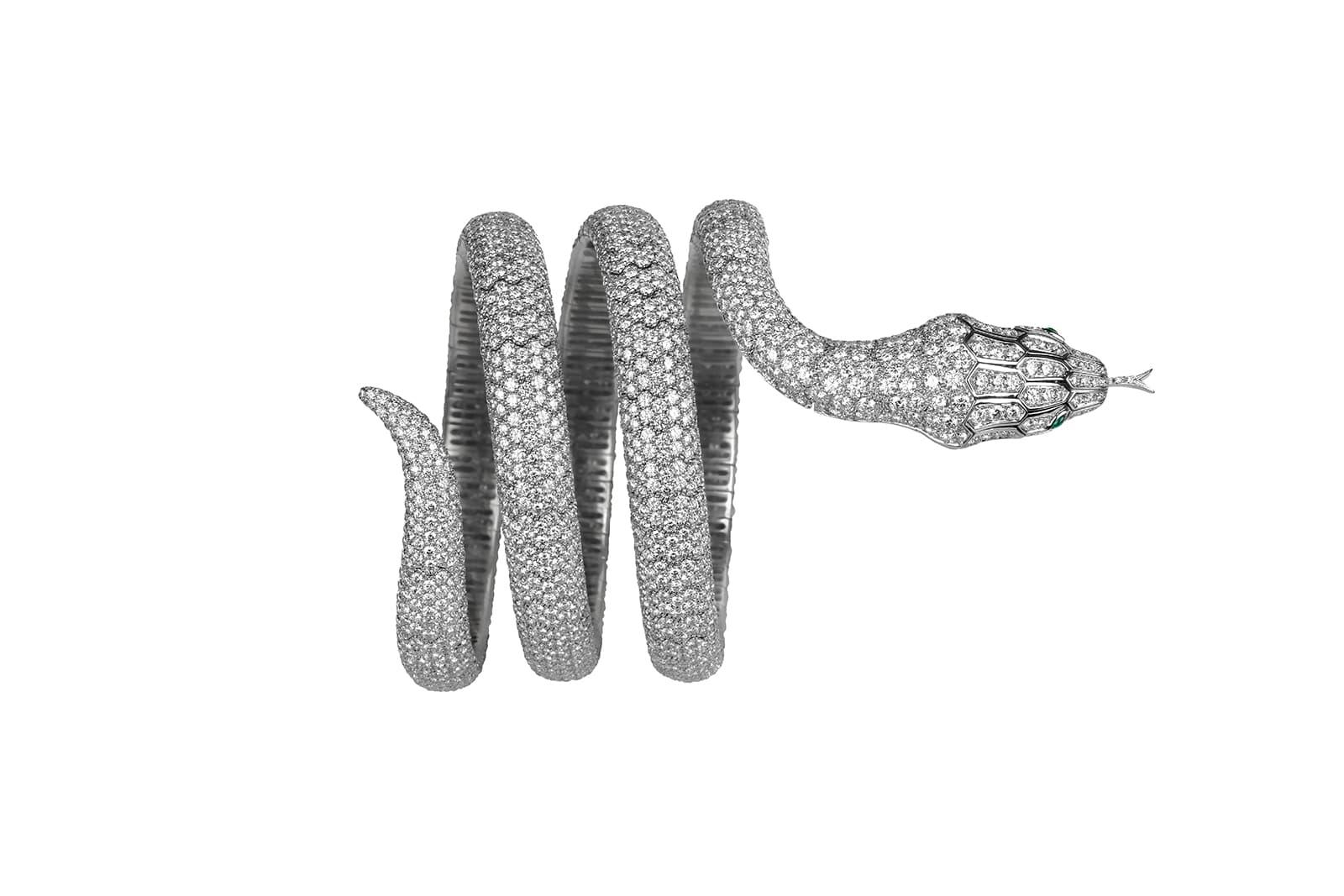 Образ змеи в бижутерии и ювелирном искусстве - Boucheron