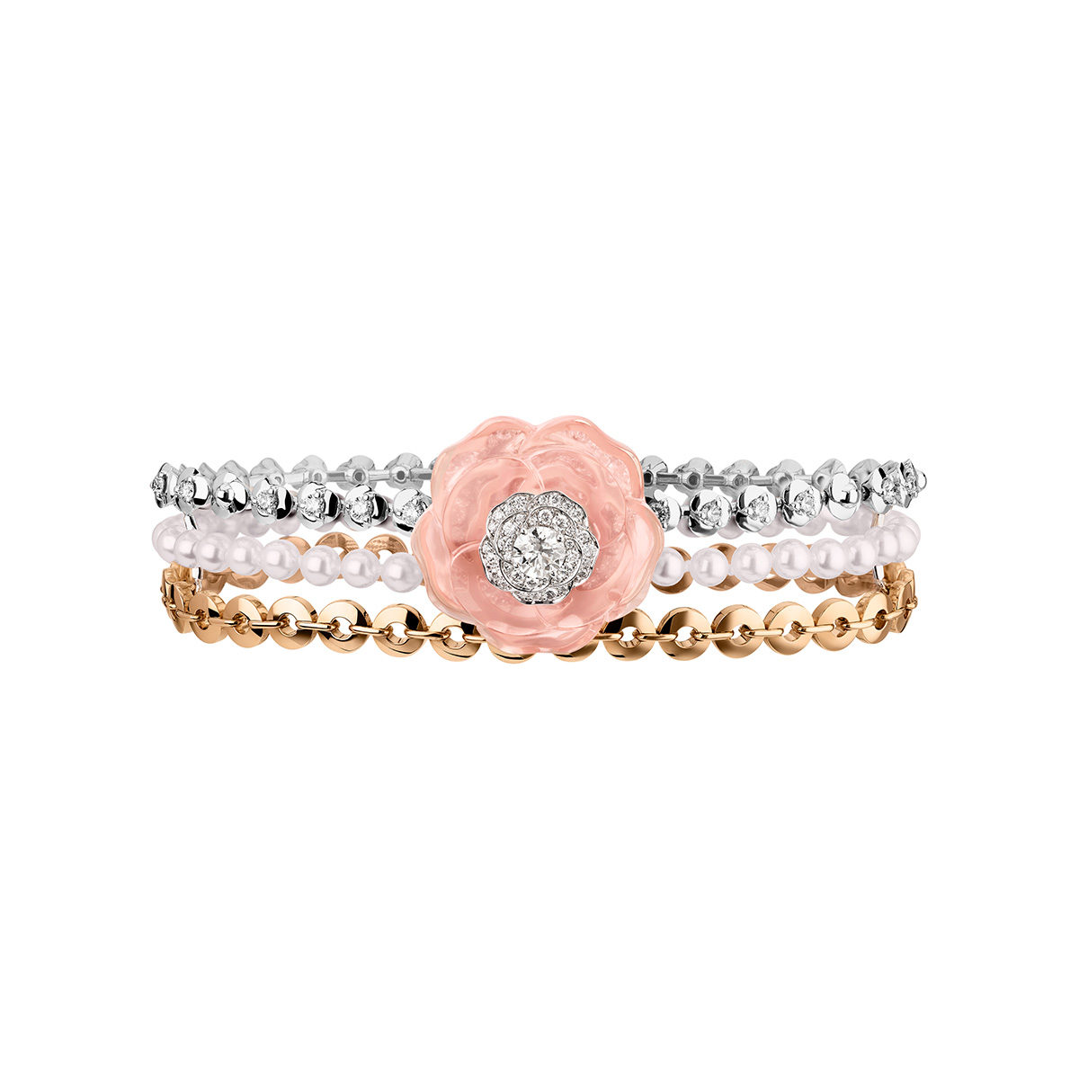 Цветочные мотивы украшений Chanel