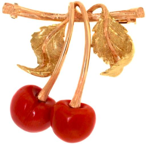 Ювелирные украшения в виде вишни - Mario Buccellati