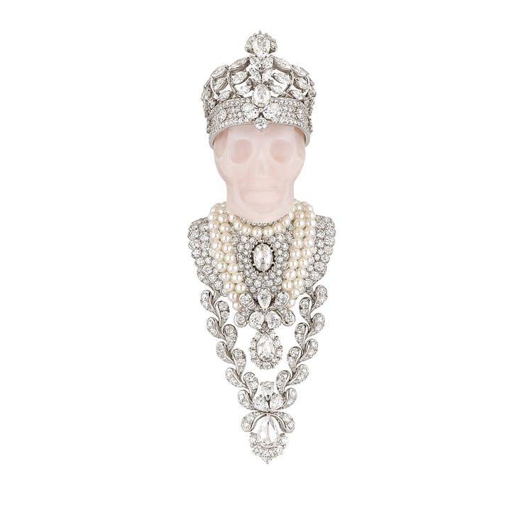 Смертельно красиво: украшения в виде черепа - Reines et Rois