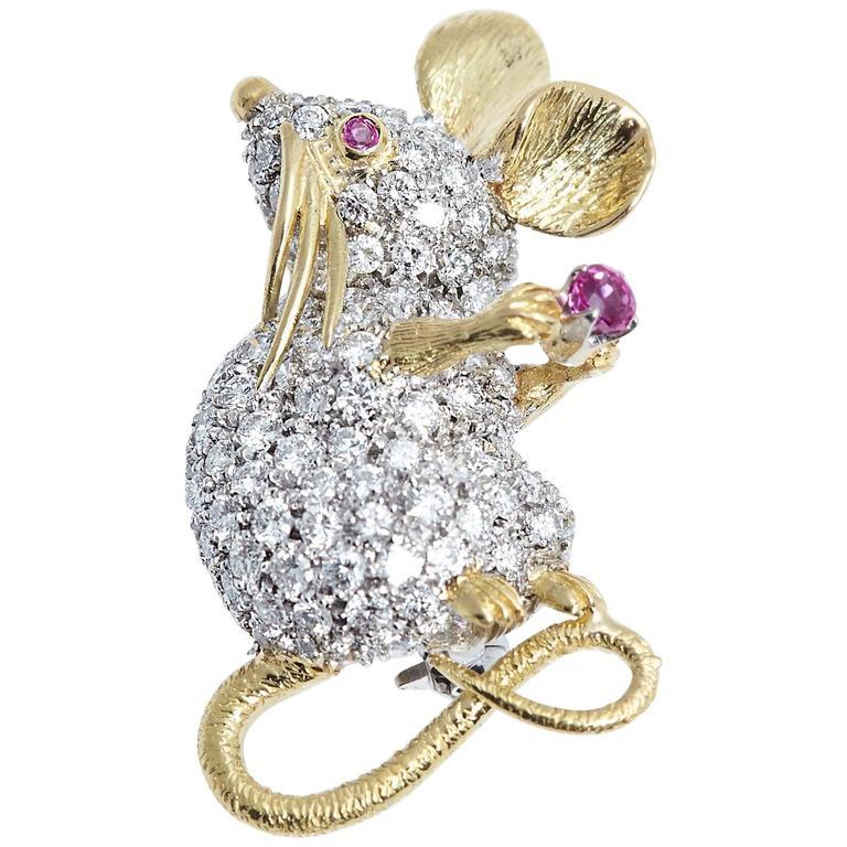 Драгоценные мышки - TIFFANY