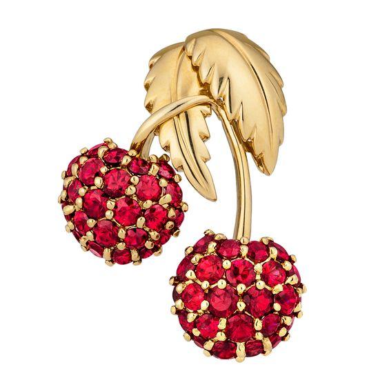 Ювелирные украшения в виде вишни - Tiffany and Co