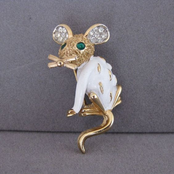 Драгоценные мышки - Trifari Pet Series