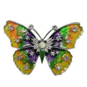 Бабочка Брошь