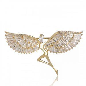 Брошь Ангел