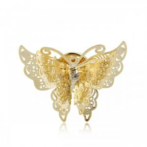 Брошь Бабочка Ангел