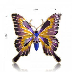 Брошь Бабочка Гретта