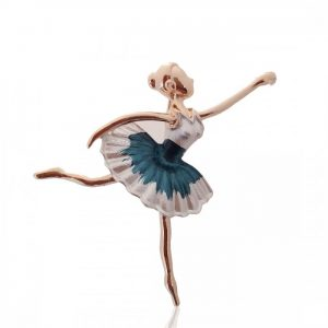 Брошь Балерина
