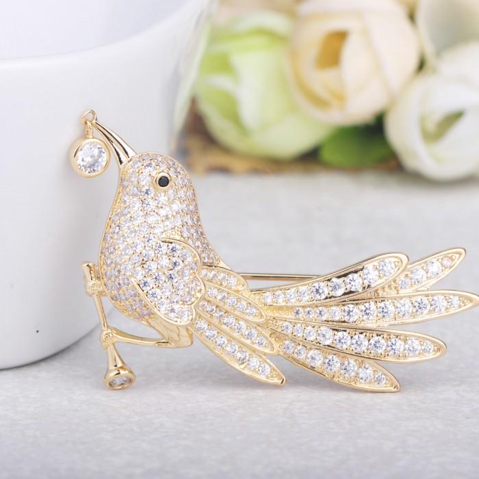 Роскошные птицы как украшение