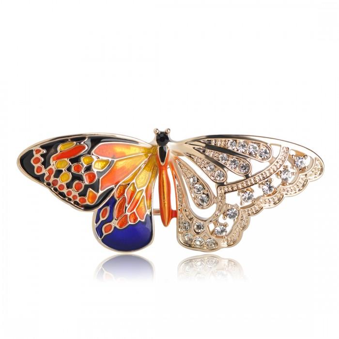 Брошь Необычная Бабочка