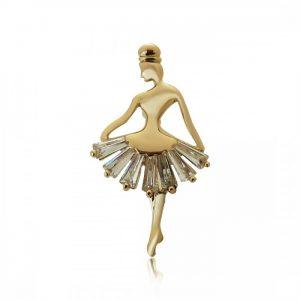 Брошь Прекрасная Балерина