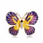 Брошь Радужная Бабочка