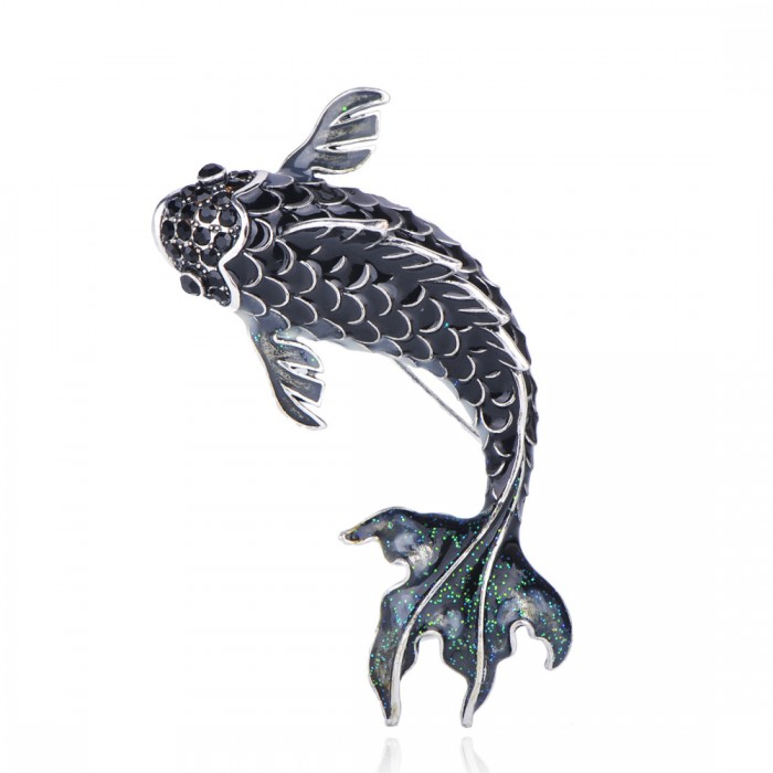 Брошь Рыба Рамиреса