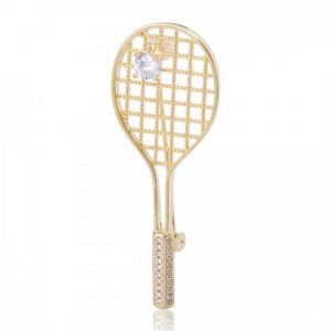 Брошь Теннисная Ракетка