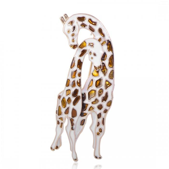 Брошь Жираф