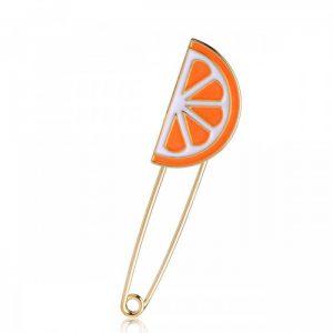 Булавка Апельсин