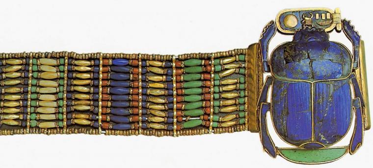 украшения в Древнем Египте