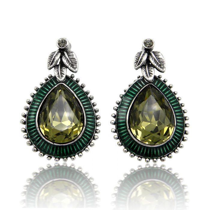 Серьги Emerald Day