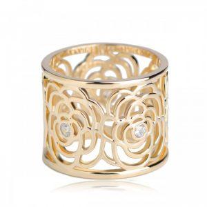 Кольцо для платка Камелия