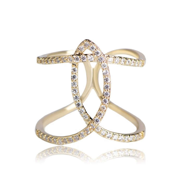 Кольцо для платка Кристаллы