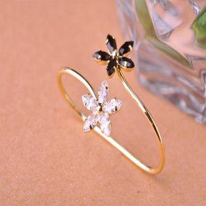 Кольцо на два пальца Цветочные луга