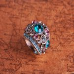 Кольцо Старинное серебро