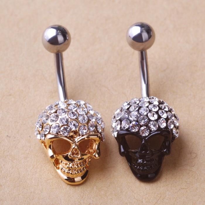 Пирсинг Готический череп