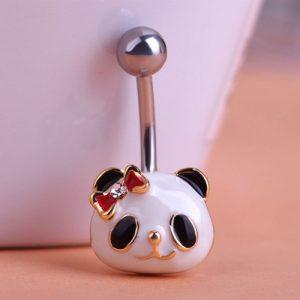 Пирсинг Милая панда
