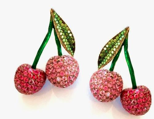 Ювелирные украшения в виде вишни - Posior