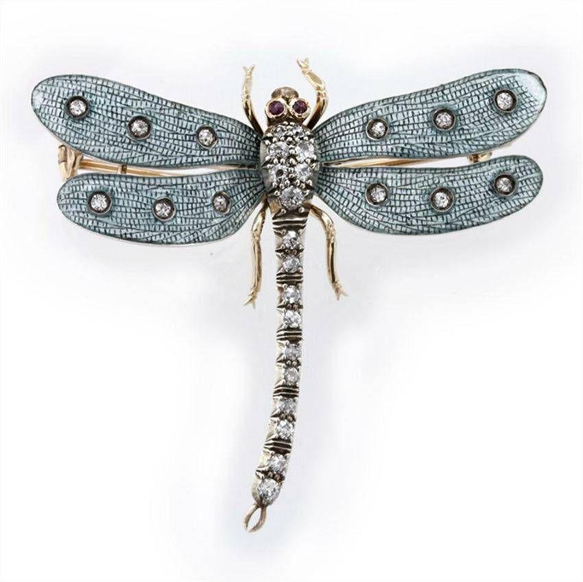 Винтажные украшения насекомые