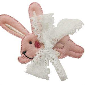 Заколка милый кролик