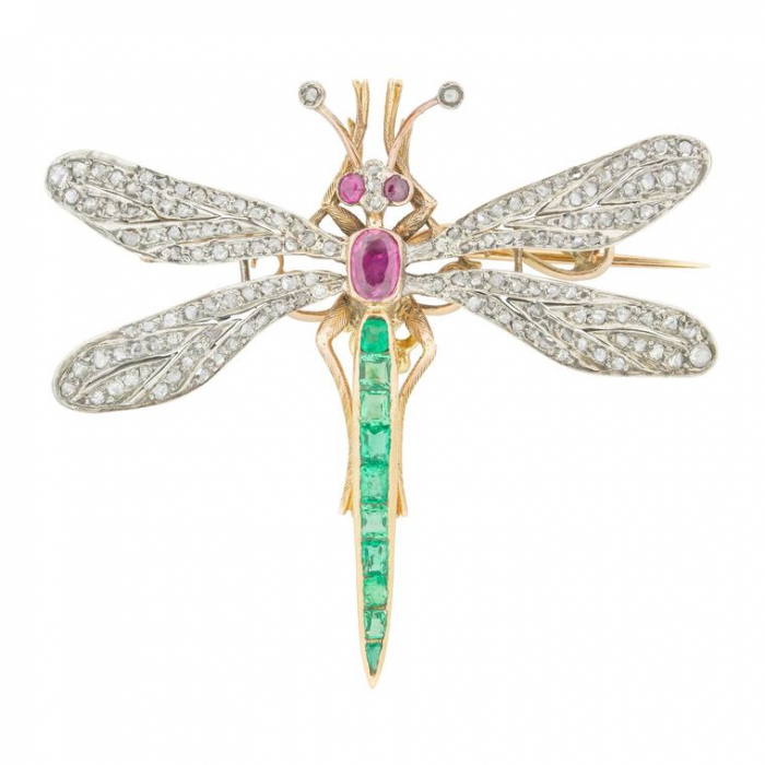 Золотая стрекоза - символ лёгкости - Bentley & Skinner