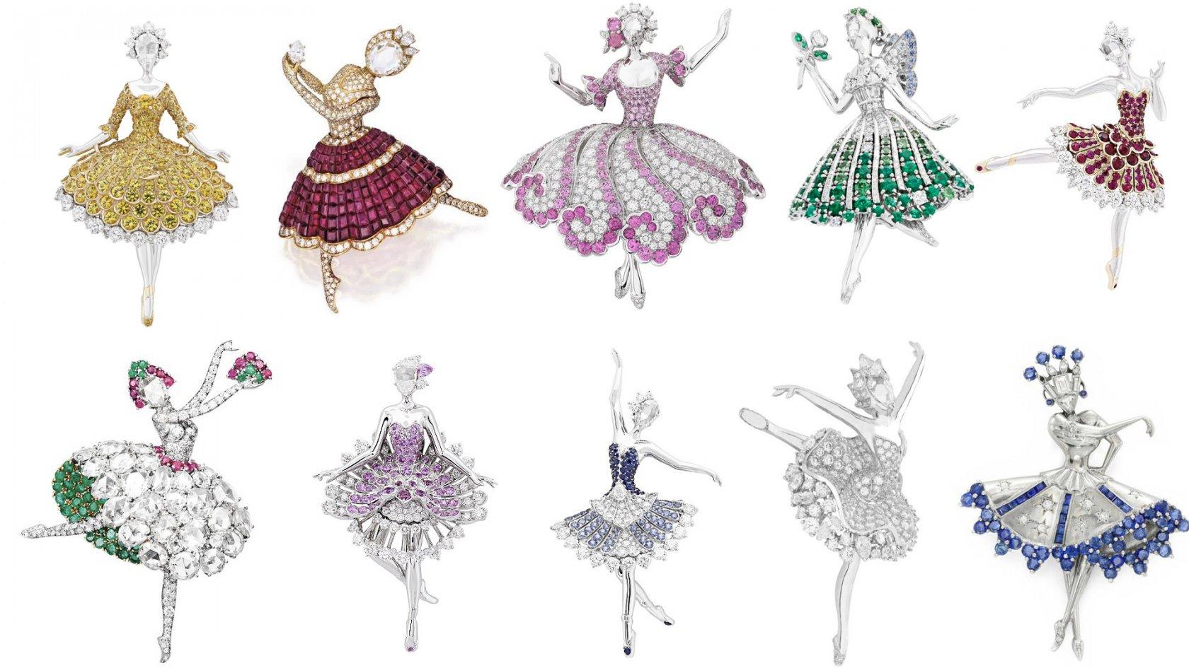 Ювелирное фуэте или балет как источник вдохновения