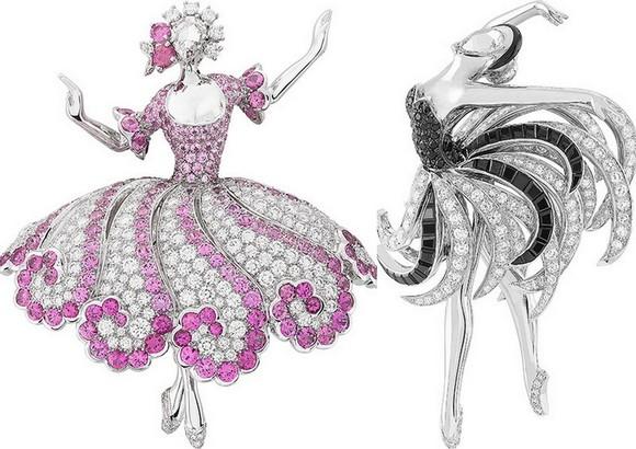 Ювелирное фуэте или балет как источник вдохновения - Van Cleef Arpel